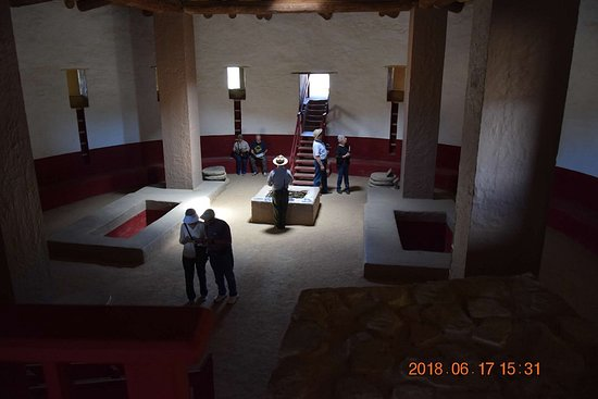 Aztec, NM: Reconstructed Kiva