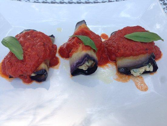 Camping Ideal Molino: Cannoli di melanzane