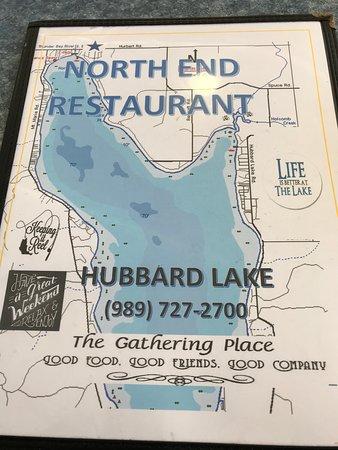 Hubbard Lake, MI: Menu