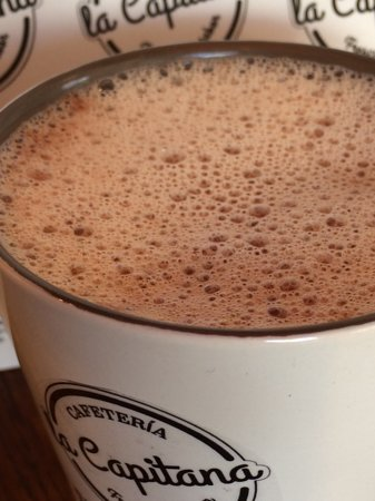 Cafeteria La Capitana: Prueba nuestro delicioso chocolate