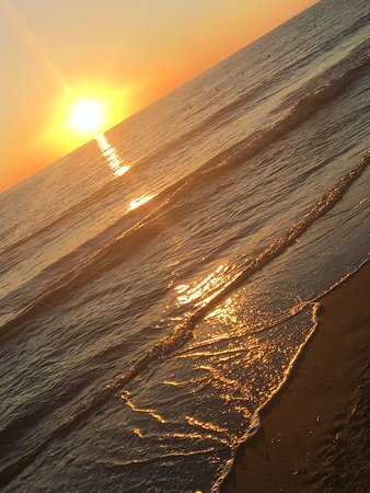 Le Dune Beach: Tramonto