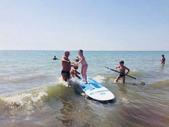 Le Dune Beach: Fun