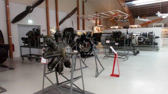 Danmarks Flymuseum: Vliegtuigmotoren