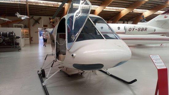 Danmarks Flymuseum: De kleinere helikopter