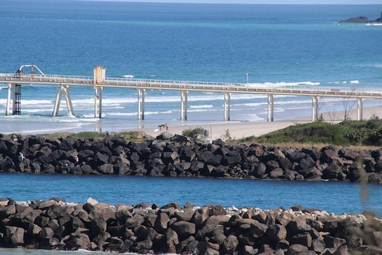 Tweed Heads, Australia: Two breakwaters