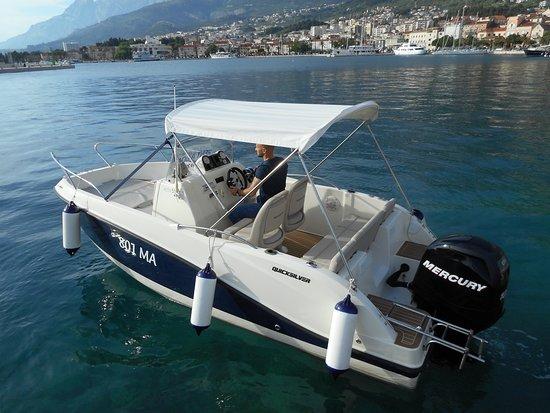 Makarska, Croatia: Quicksilver 555