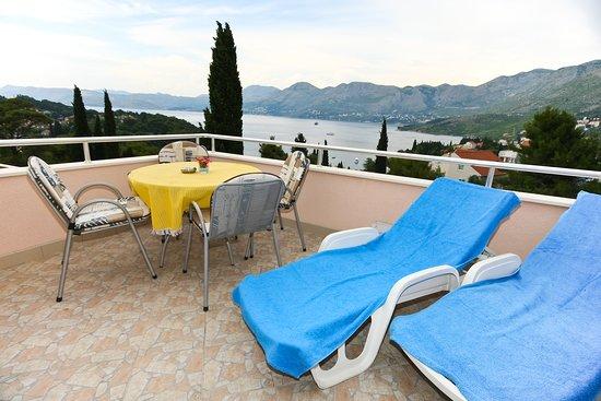Villa Ana: View from the balcony