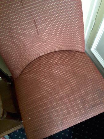 Albany Hotel: Well I was definately not going to sit down here.!