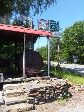 Hartford, VT: Great brisket