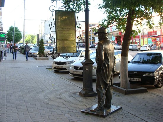 Sculpture a Native of Rostov-on-Don