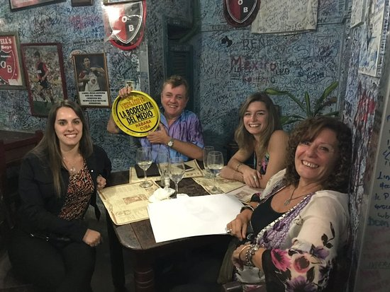 Interior restaurante trasero La Bodeguita del Medio