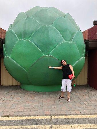 Castroville, Kalifornien: giant artichoke