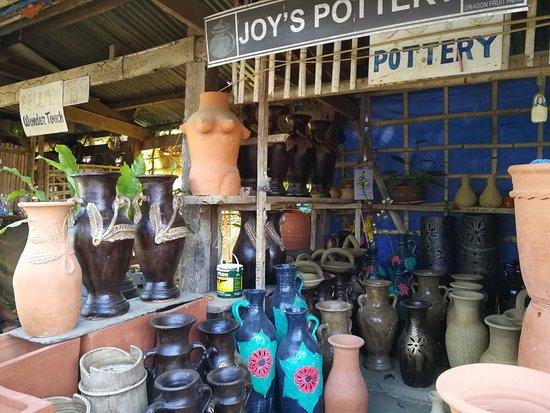 Aklan Province, Philippinen: Bayangan village visit