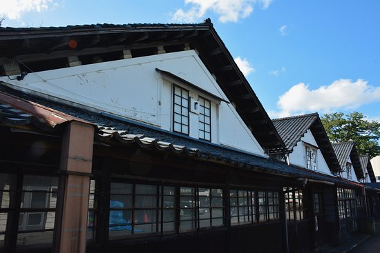 Sankyo Soko Storehouse: 屋根の連なりが印象的