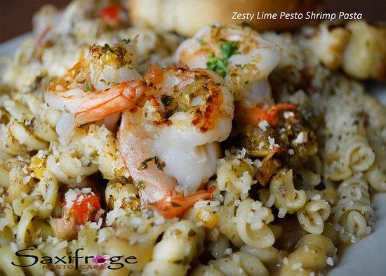 Cambridge Bay, Canadá: Zesty Lime Pesto Shrimp Pasta