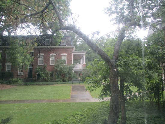 Oneida Community Mansion House: View from room #145