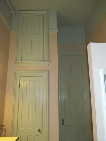 Oneida, NY: Two sets of closets - one reaching all the way up to the ceiling