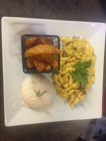 Port Loca Karakoy: kori sauce chicken