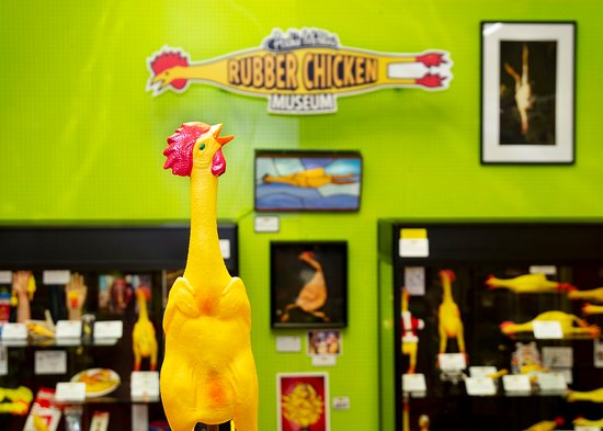 ‪Rubber Chicken Museum‬