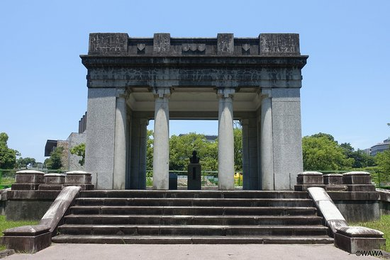 Former Kumamoto City Hall Entrance