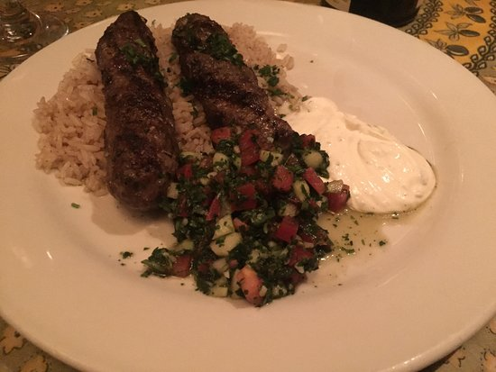 Yafa: Jantar maravilhoso