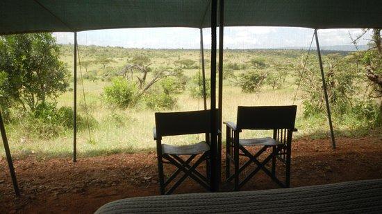 Basecamp Masai Mara: View from tent at Wilderness Basecamp