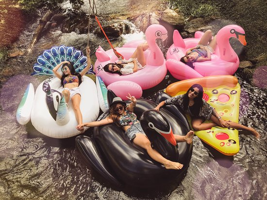 Parque Corredeiras: diversas boias lindas