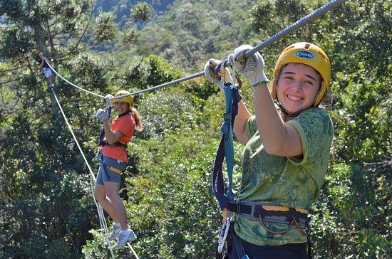 Parque Corredeiras: se divirta a 16 metros de altura
