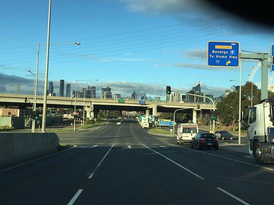 Riddells Creek, Austrália: Road back to Melbourne