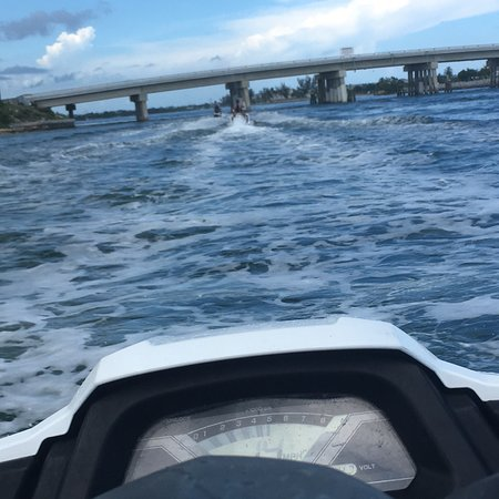 Foto de Paseo en moto de agua desde Key West
