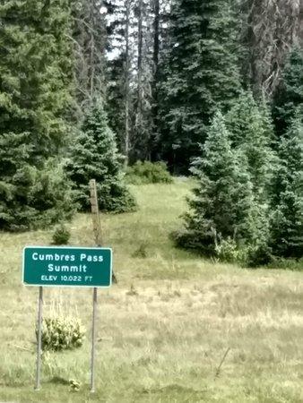 Cumbres & Toltec Scenic Railroad: Highest point