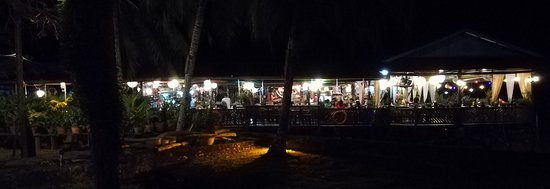 Mukah, Malaysia: Side View at night