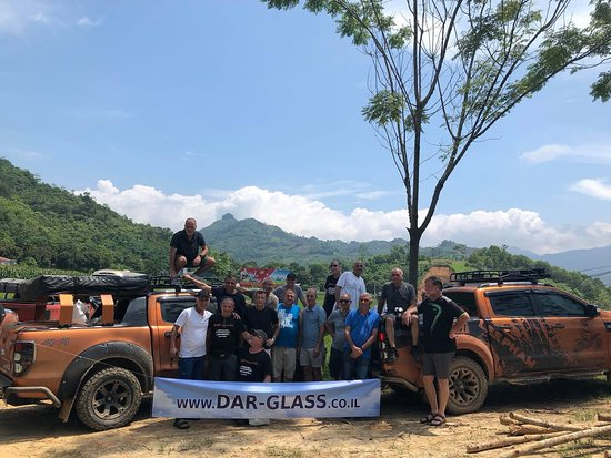 Motorbike & 4WD Tours Vietnam: Group from israel
