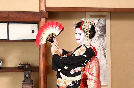 Maiko Makeover - Séance de photos...