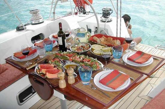 Breakfast on Boat in Agadir