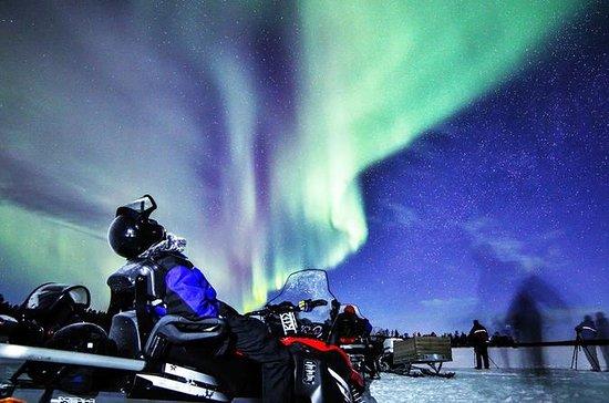 Voyage de photographie en motoneige à...