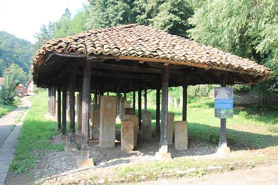 Guca, Serbia: Lapidarium