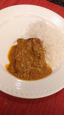 Eden Pavilion: Rice and Fish in Mustard Sauce