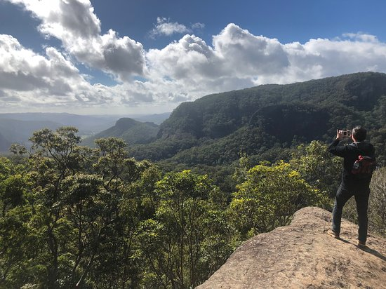 Beechmont, Australia: Stunning views on lower bellbird circuit