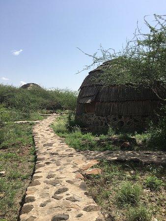 Awash National Park, Etiópia: Nice, basic bungalows in a great surrounding