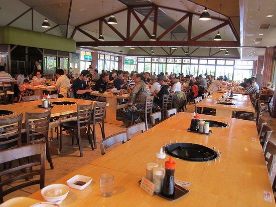 Ozasa RanchGenghis Khan House: 広いレストラン