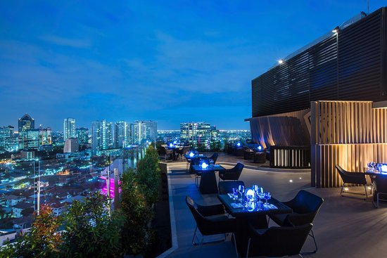 Blue Sky Rooftop Bar