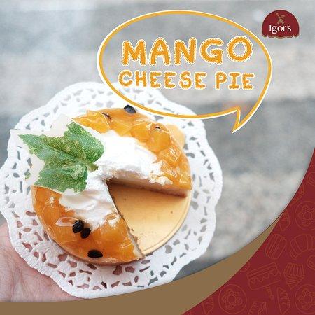 Igor's Pastry: Mango Cheese Pie