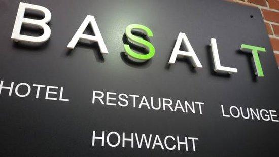 Hohwacht, Deutschland: Basalt