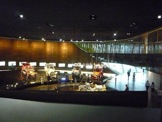 梅塞德斯奔驰博物馆照片