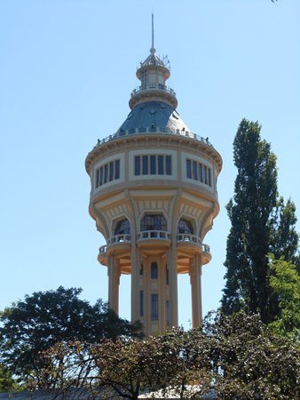 Margit-sziget Water Tower照片