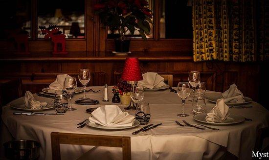 Hotel la Savoyarde: Salle de restaurant