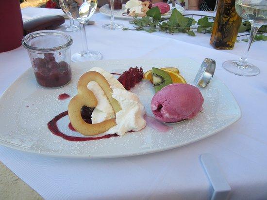 Hotel Burg Trendelburg: Dessert