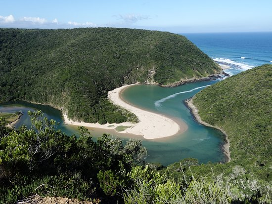 Nature's Valley, South Africa: Saltriver mouth, one of the day hikes mentioned in the review