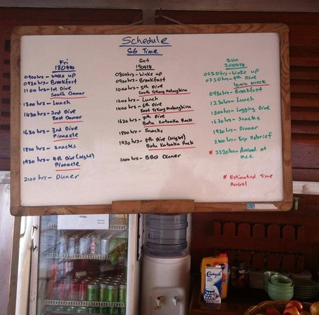 Nautica Diving: Trip Schedule at Anambas Islands, Indonesia